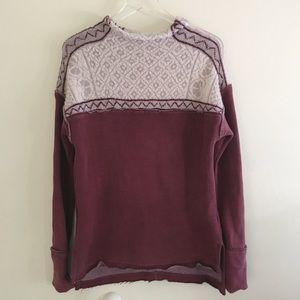 Free People Turtle Neck Sweater Sweatshirt